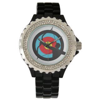Uhr - Bogenschütze