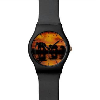 Uhr der Elefant-Safari-May28th