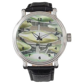 Uhr der kundenspezifischen schwarzen die Vintage