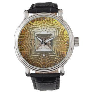 Uhr der Sciencefiction-Kunst-1 u. Ziffern-Wahlen