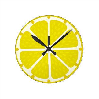 Uhr der Zitrone