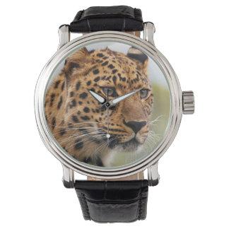 Uhr des Leopard-3 u. Ziffern-Wahlen