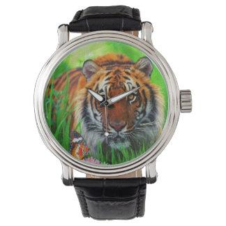 Uhr des Tiger-1 u. Ziffern-Wahlen