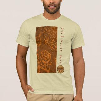 UHR Felsen-Kunst-Collagen-T - Shirt