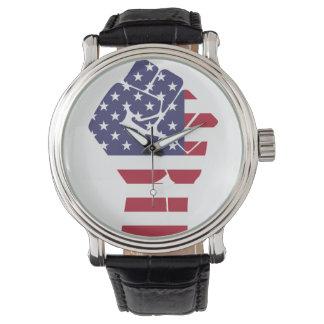 Uhr für Patrioten des Amerikaners