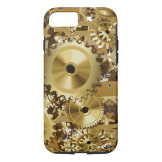 Uhr-Goldbild iPhone 7, stark iPhone 8/7 Hülle