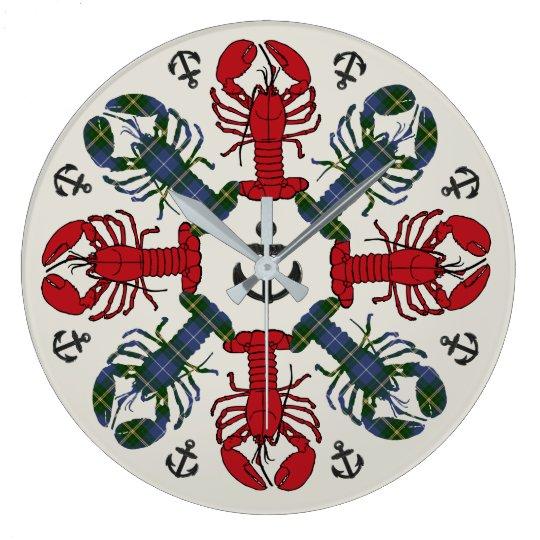 Uhr Hummer-Schneeflocke-Anker N.S. Christmas
