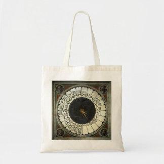 Uhr im Duomo durch Paolo Uccello Budget Stoffbeutel