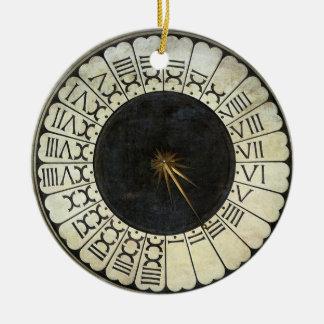 Uhr im Duomo durch Paolo Uccello Keramik Ornament