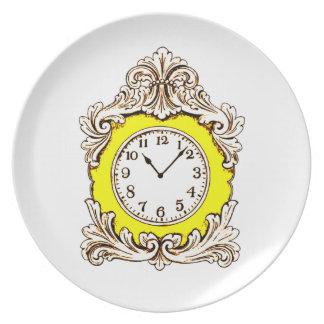 Uhr Teller