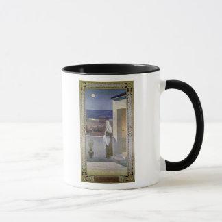 Uhren St. Genevieve über der Schlafenstadt Tasse