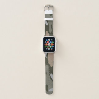 Uhrenarmband Tarnungs-grünes TANs Apple Apple Watch Armband