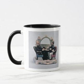 Uhrstand im Stil einer Verkleidung Tasse