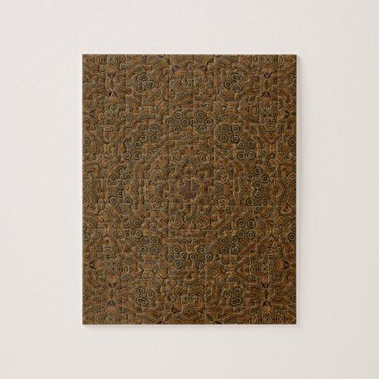 Uhrwerk-Vintages Kaleidoskop-Puzzle Puzzle