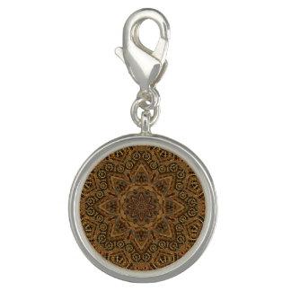 Uhrwerk-Vintages Kaleidoskop-runder Charme Foto Charm