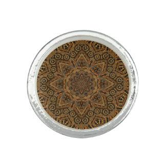 Uhrwerk-Vintages Kaleidoskop-    runder Ring