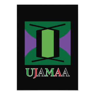UJAMAA Kwanzaa Feiertags-Party Einladungen