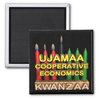 Ujamaa Quadratischer Magnet