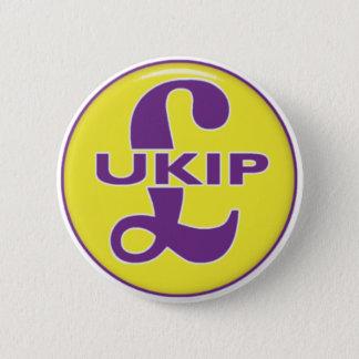 UKIP Logo Runder Button 5,7 Cm