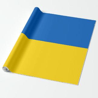 Ukraine-Flagge Geschenkpapier