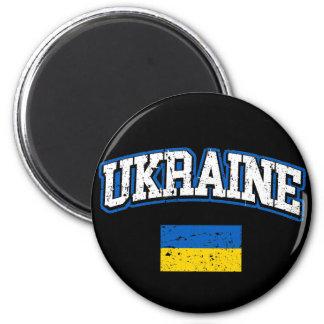 Ukraine-Flagge Runder Magnet 5,7 Cm