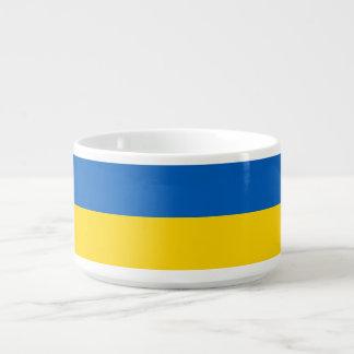 Ukraine-Flagge Schüssel