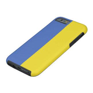 Ukraine-Flagge Tough iPhone 6 Hülle