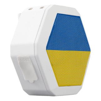 Ukraine-Flagge Weiße Bluetooth Lautsprecher
