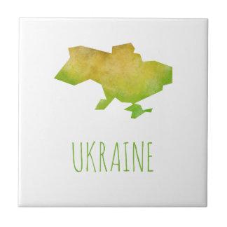 Ukraine-Karte Keramikfliese