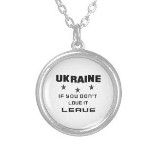 Ukraine, wenn Sie nicht Liebe es tun, verlassen Versilberte Kette
