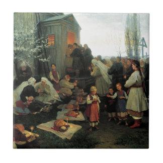 Ukrainer Ostern/velyk Den Segen Fliese