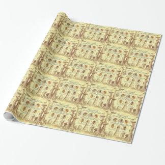 Ukrainische Imkerei-Briefmarke Geschenkpapier