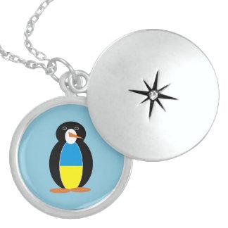 Ukrainischer Pinguin -- українськийпінгвін Medaillon