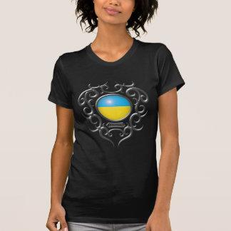 Ukrainisches Eisen Stammes- - Dunkelheit T Shirt