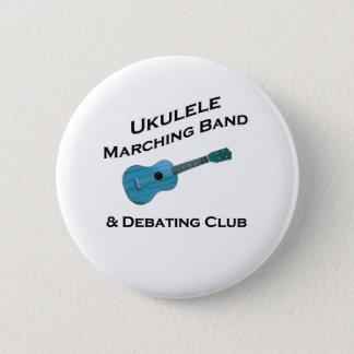Ukulele-Blaskapelle u. debattieren Verein Runder Button 5,1 Cm
