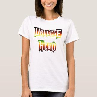 Ukulele-Held durch Asche T-Shirt