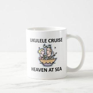 Ukulele-Kreuzfahrt Kaffeetasse