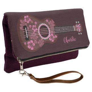 Ukulele-Name-Handtaschen Clutch