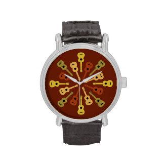 UKULELE-Uhren