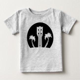 Ukulele-und Palmen Baby T-shirt