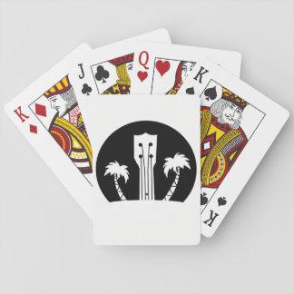 Ukulele-und Palmen Spielkarten
