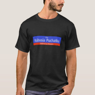 Ulica Kubusia Puchatka, Warschau, polnischer T-Shirt