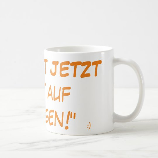 ULTIMATIVE Du-hast-JETZT-Lust-auf-Joggen-Tasse! Kaffeetasse