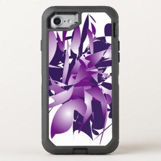 Ultraviolette Abstraktion OtterBox Defender iPhone 8/7 Hülle