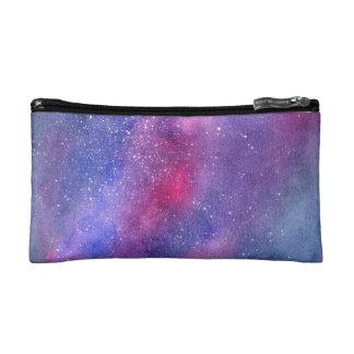 Ultraviolette Galaxiekosmetiktasche Makeup-Tasche