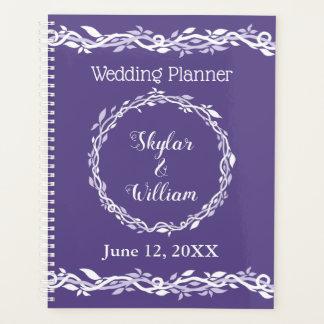 Ultraviolette Hochzeits-einfache Planer