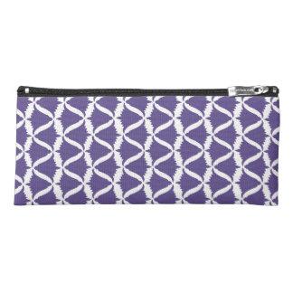 Ultraviolette lila Bell-Blumen-Wiesen-Glockenblume Stiftetasche