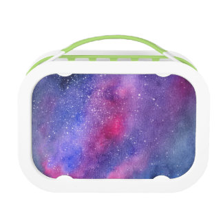 Ultravioletter Galaxie Lunchbox