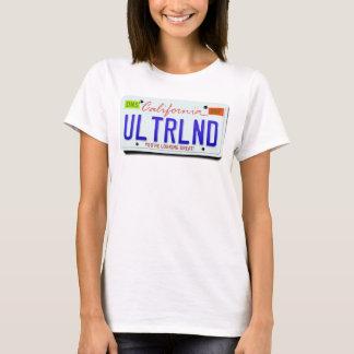 ULTRLND: CA-Kfz-Kennzeichen T-Shirt