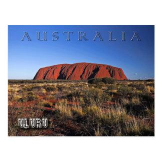 Uluru (Ayers Felsen), Australien Postkarte